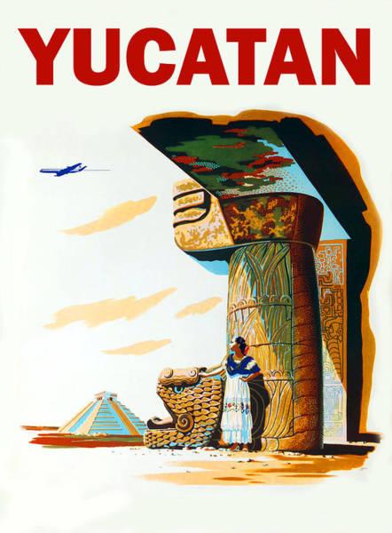 Yucatan Wall Art - Digital Art - Yucatan by Long Shot