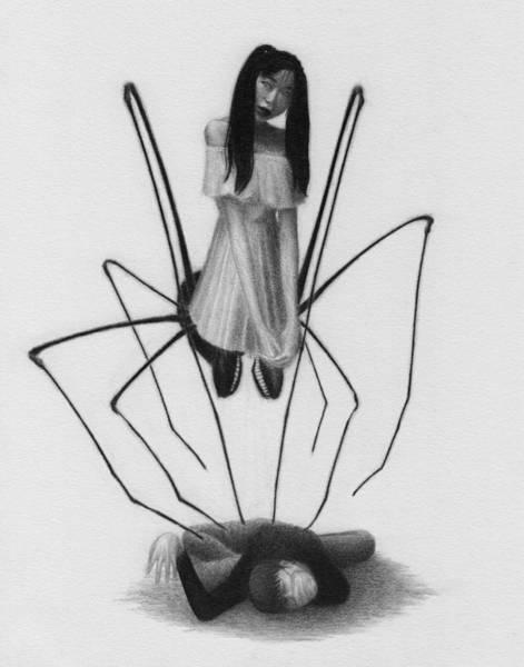 Drawing - Yui Oiwa - Artwork by Ryan Nieves