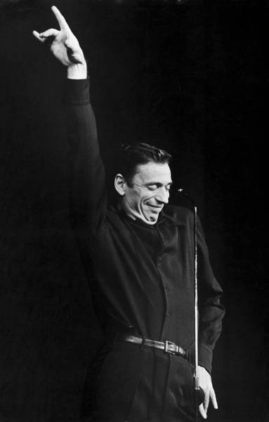 Photograph - Yves Montand In 1960 - by Herve Gloaguen