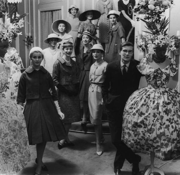 Photograph - Yves Saint Laurent by Archive Photos