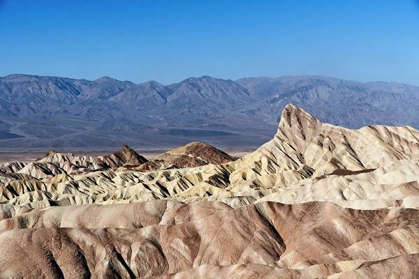 Wall Art - Photograph - Zabriskie Point Color by Allan Van Gasbeck