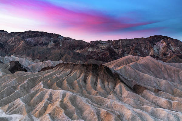 Photograph - Zabriskie Sunrise by Chuck Jason