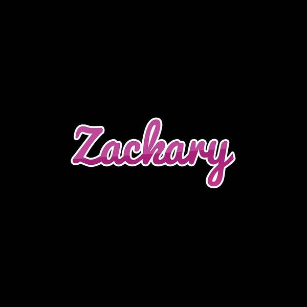 Wall Art - Digital Art - Zackary #zackary by TintoDesigns
