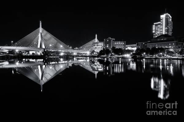 Photograph - Zakim Reflections  by Jesse MacDonald