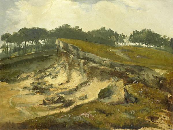 Painting - Zandafgraving by Johannes Tavenraat