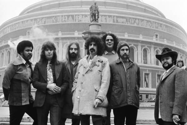 Concert Hall Photograph - Zappa & The Mothers by Evening Standard