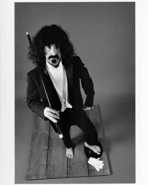 Frank Zappa Wall Art - Photograph - Zappa In A Tux by Michael Ochs Archives