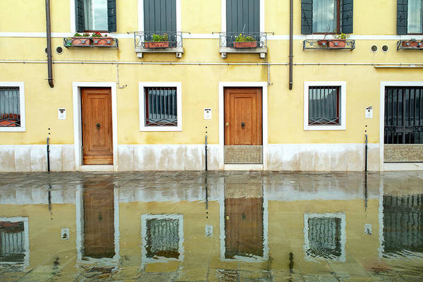 Photograph - Zattere Reflections 4, Venice by Jean Gill