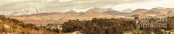 Range Photograph - Zeehan And Beyond by Jorgo Photography - Wall Art Gallery