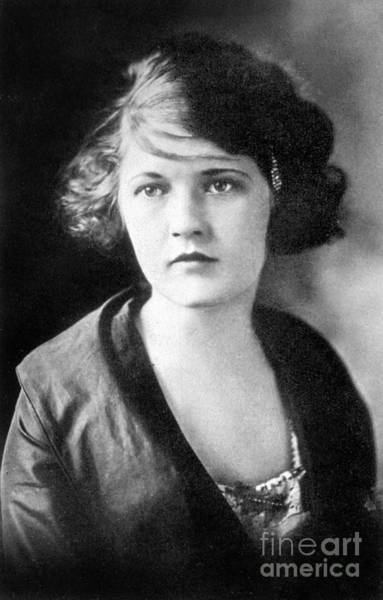 Wall Art - Photograph - Zelda Fitzgerald, 1919, Photo by Unknown