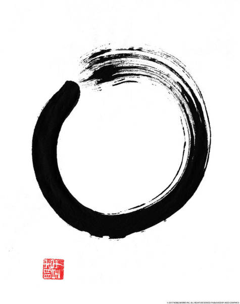 Wall Art - Painting - Zen IIi by Yellow Caf�