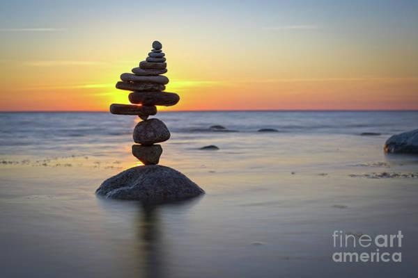 Sculpture - Zen Stack #14 by Pontus Jansson