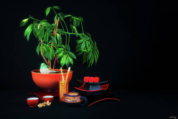 Photograph - Zen Tea Time by Dee Browning