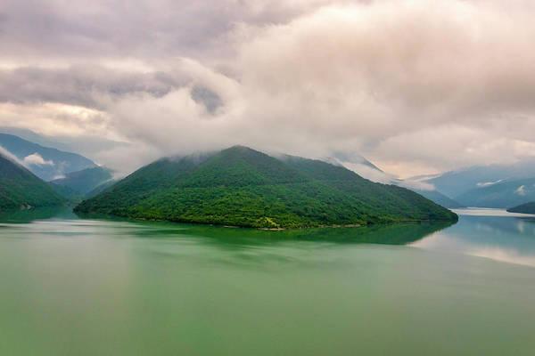 Photograph - Zhinvali Reservoir by Fabrizio Troiani