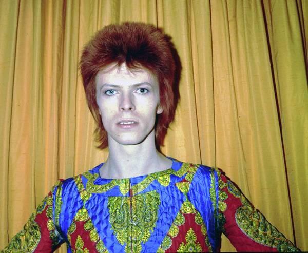 Glam Rock Wall Art - Photograph - Ziggy Stardust by Michael Ochs Archives