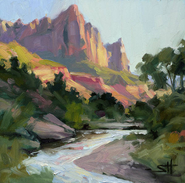 Painting - Zion's Watchman by Steve Henderson