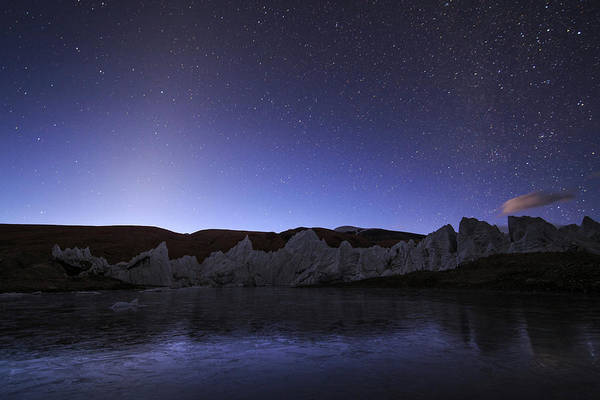 Wall Art - Photograph - Zodiacal Light Appear Brightly by Jeff Dai