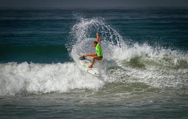 Photograph - Zoe Mcdougall Surfer by Waterdancer