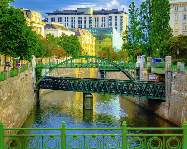 Photograph - Zollamtssteg Bridge by Borja Robles