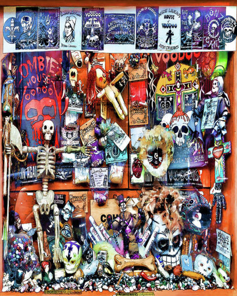Photograph - Zombie's House Of Voodoo by Susan Rissi Tregoning