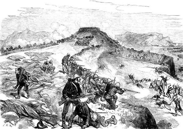 Painting - Zulu War, 1879 by Granger