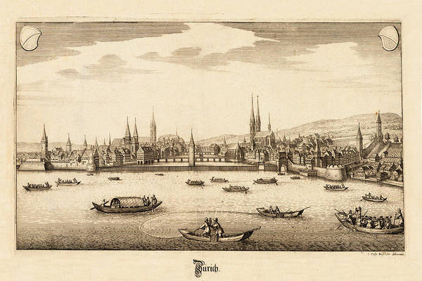 Photograph - Zurich 1654 by Andrew Fare