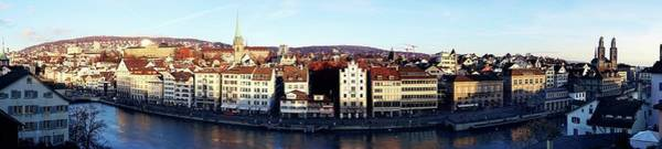 Photograph - Zurich - A Trip Down The Memory Lane by Peter Thoeny