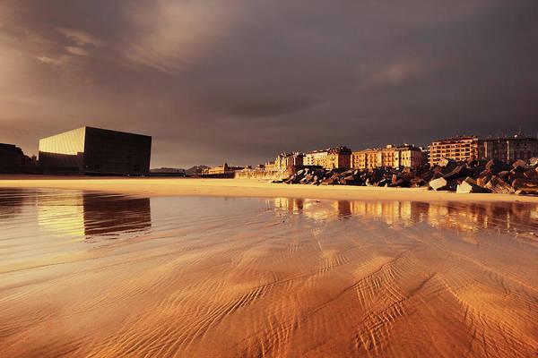 San Sebastian Photograph - Zurriola Beach, San Sebastián by Photograph By Paul Webb