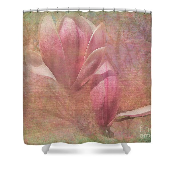 A Peek Of Spring Shower Curtain