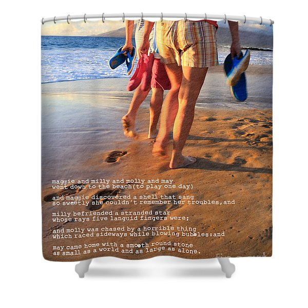 Always Ourselves We Find In The Sea Shower Curtain