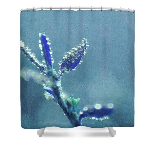 Circles From Nature -ss4t04b Shower Curtain