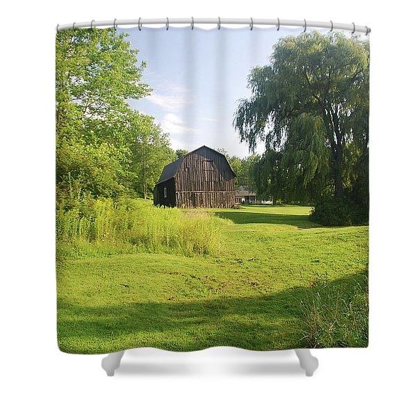 Evergreen Trails 7523 Shower Curtain