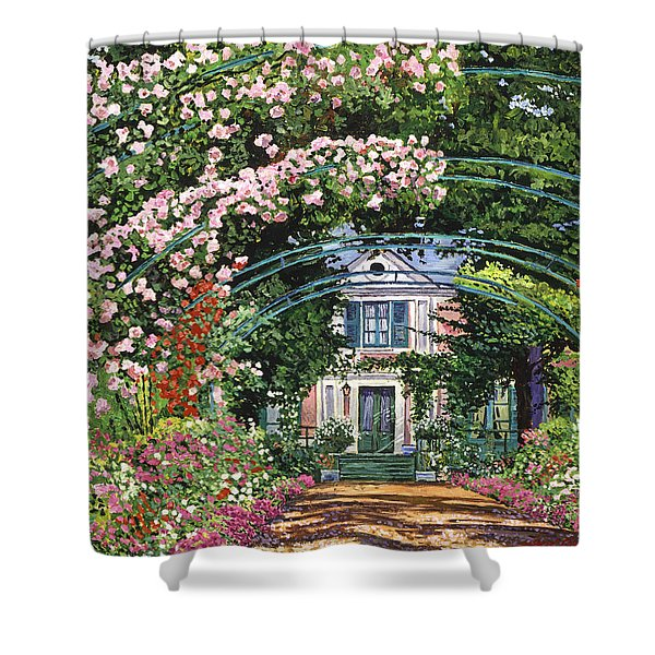 Flowering Arbor Giverny Shower Curtain
