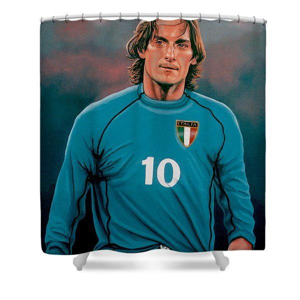 Francesco Totti 2 Shower Curtain