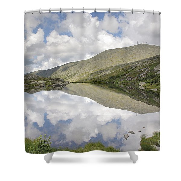 Shower Curtain featuring the photograph  Lakes Of The Clouds - Mount Washington New Hampshire by Erin Paul Donovan