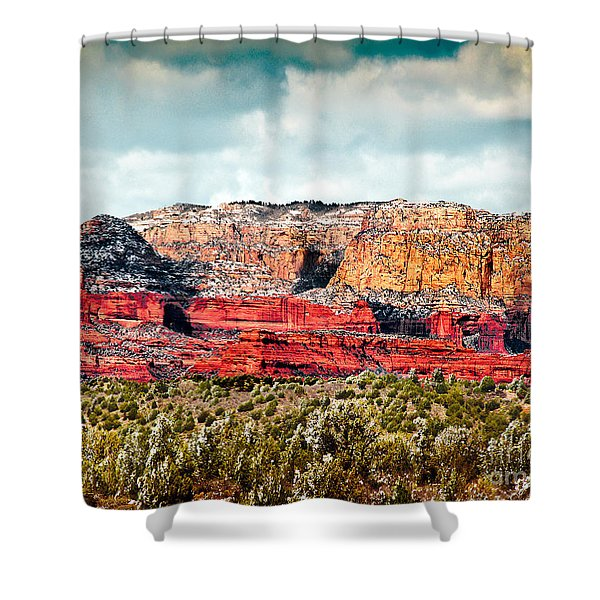 Secret Mountain Wilderness Sedona Arizona Shower Curtain