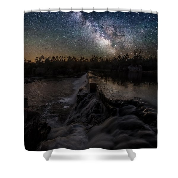 Split Rock Dreamscape Shower Curtain