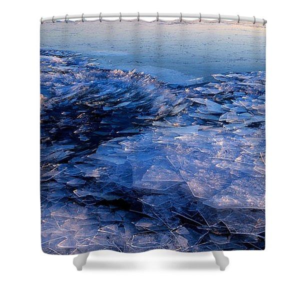 Superior Winter   Shower Curtain