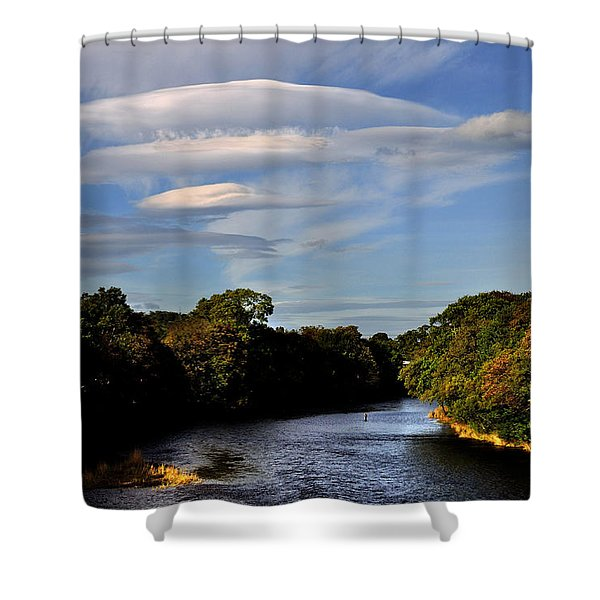 The River Beauly Shower Curtain