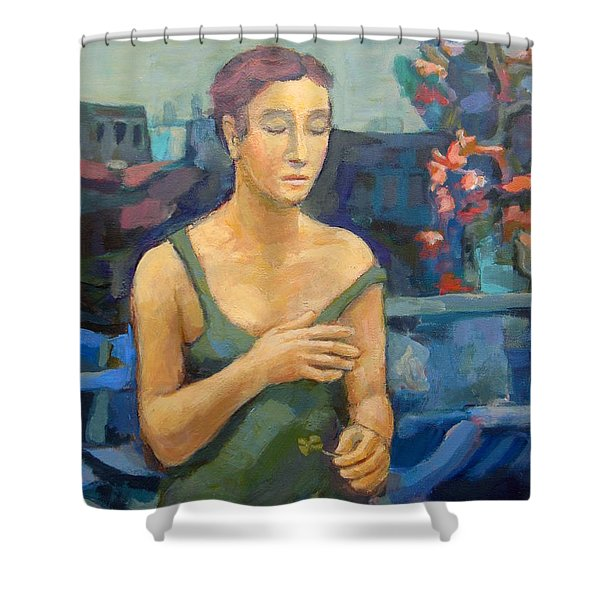 Time Is All Healing Shower Curtain