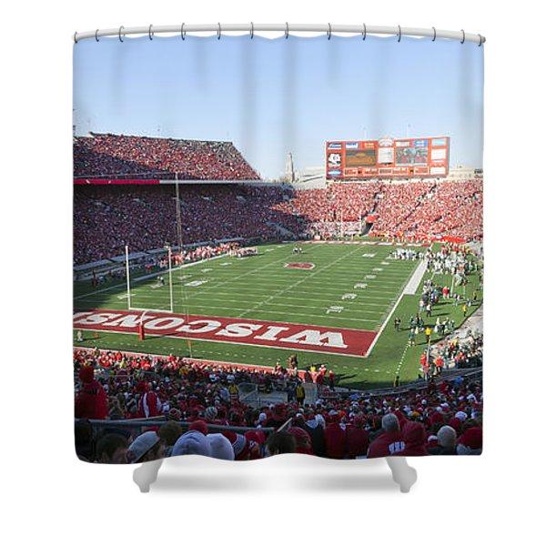 0251 Camp Randall Stadium - Madison Wisconsin Shower Curtain