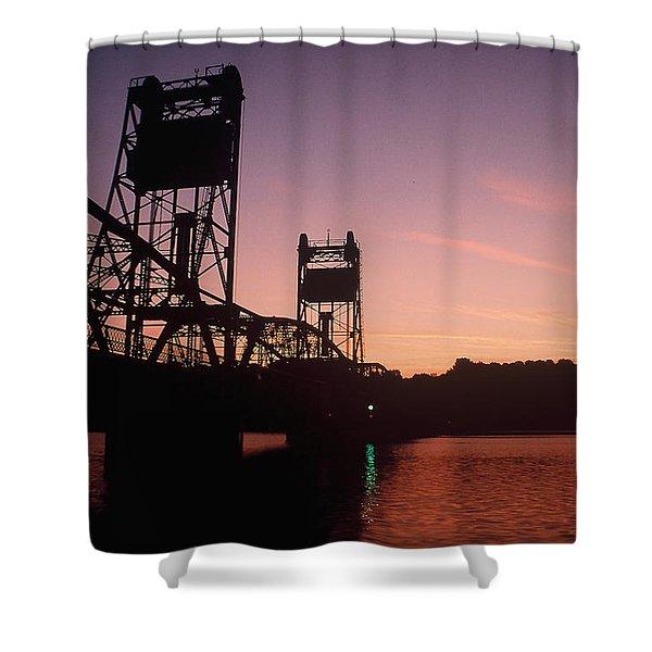 0364 Stillwater Minnesota Bridge Shower Curtain