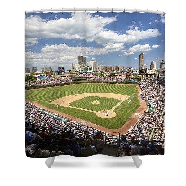0415 Wrigley Field Chicago Shower Curtain