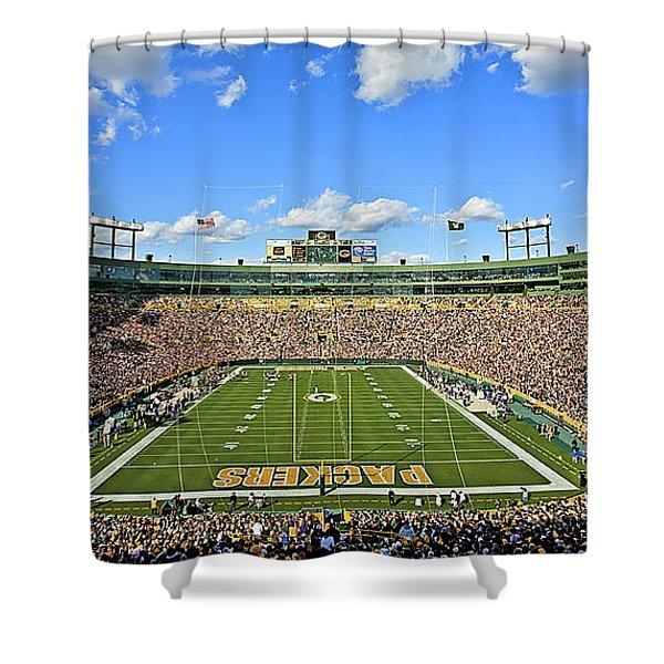 0539 Lambeau Field Shower Curtain
