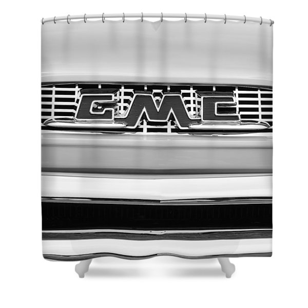 1956 Gmc 100 Deluxe Edition Pickup Truck Shower Curtain