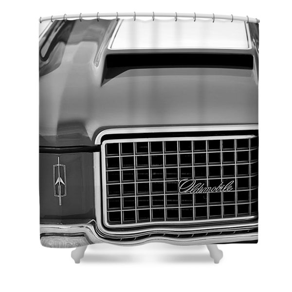 1972 Oldsmobile Grille Shower Curtain