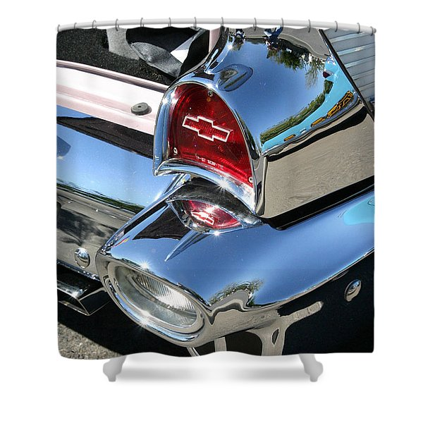 '57 Chevy Shower Curtain