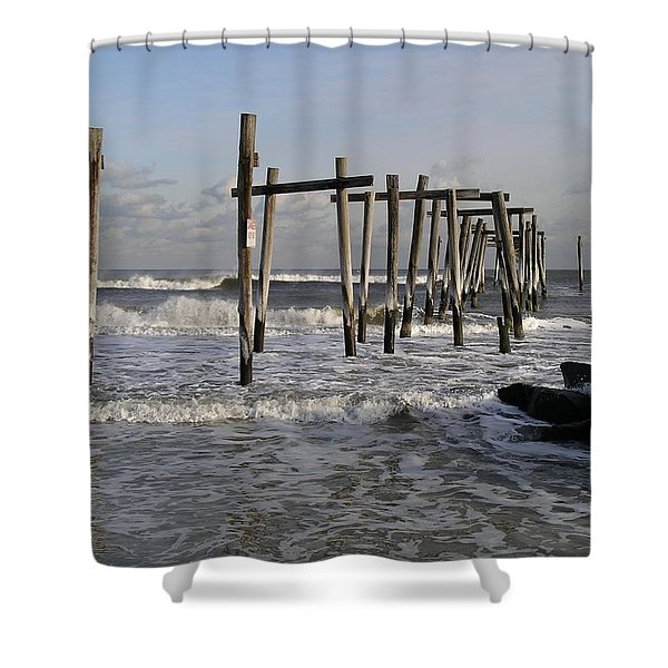 59th St. Pier Shower Curtain