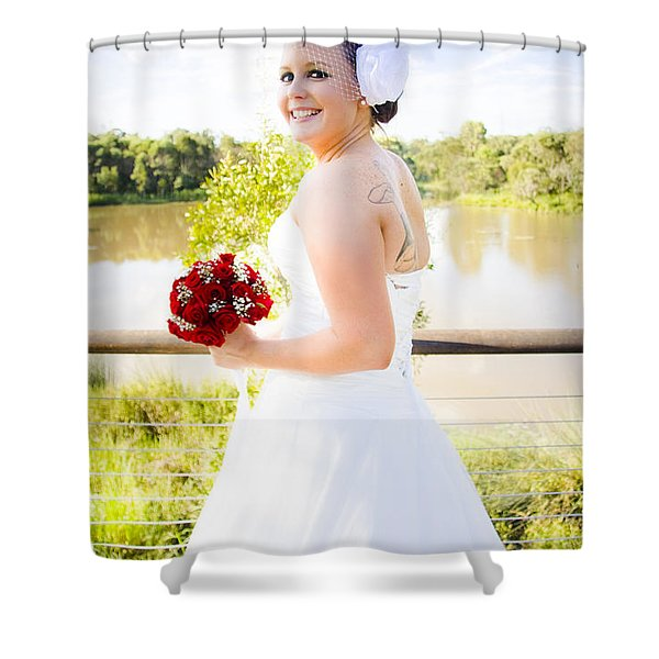 A Turning Point In Life Shower Curtain