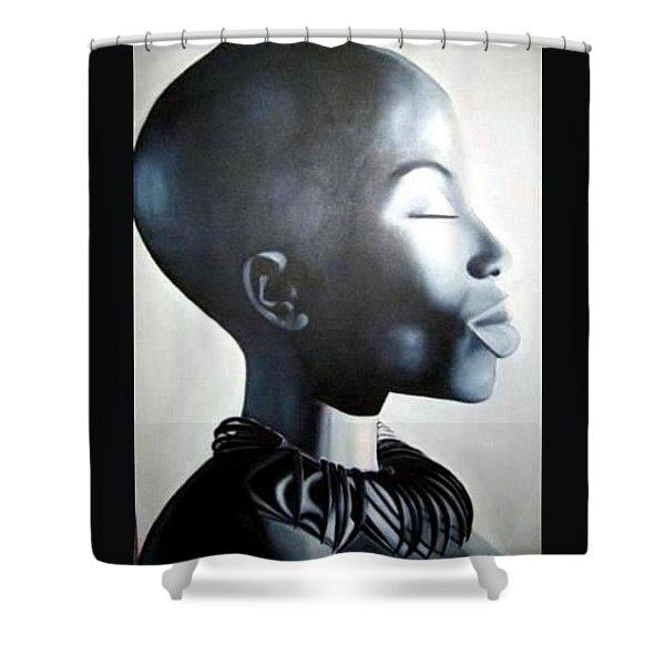 African Elegance - Original Artwork Shower Curtain